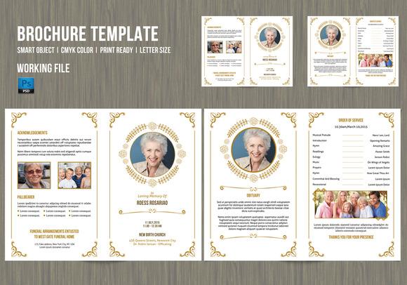 Funeral Program Template-V200