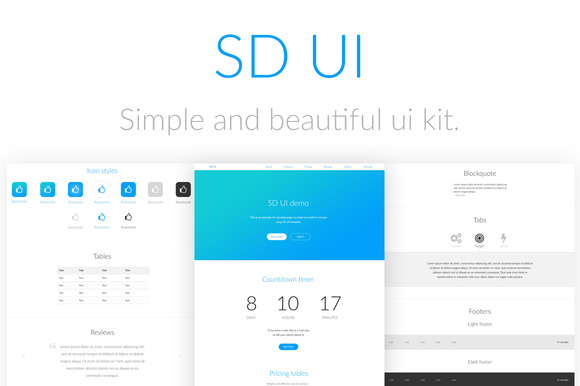SD UI Kit