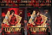 Luxury Halloween Party Flye-Graphicriver中文最全的素材分享平台