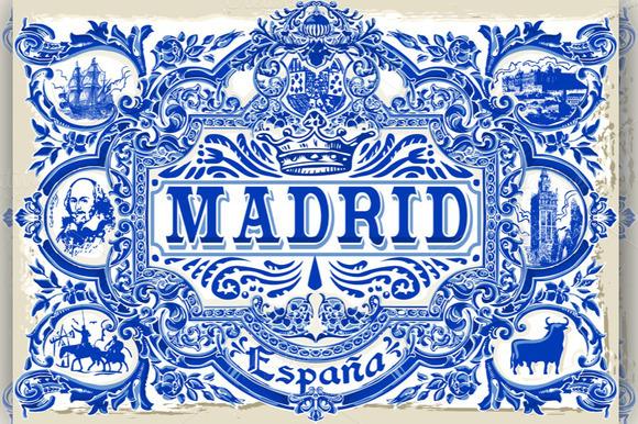 Madrid Vintage Azulejos