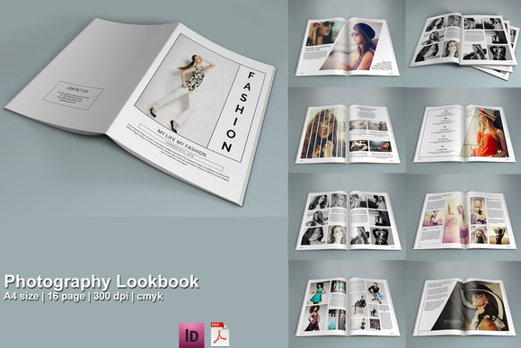Fashion Lookbook Templates. fashion catalog template lookbook ...