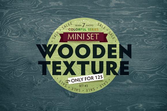 Colorful Wood Texture Set #3