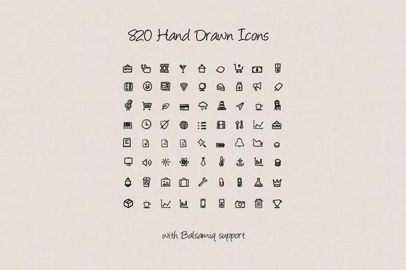 Hand Drawn Icons V.2 - Icons