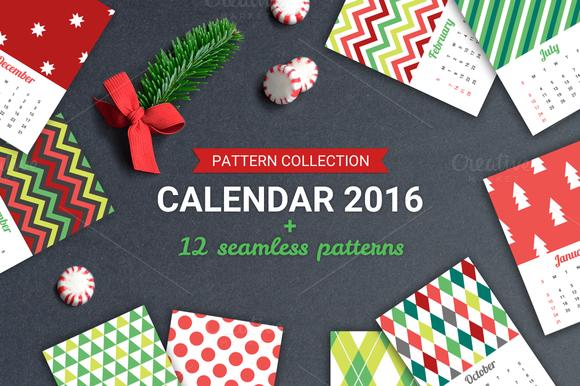 Geometric Calendar 2016