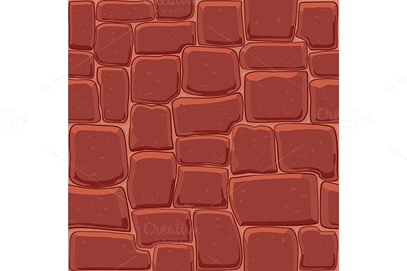 Abstract Stone Wall Seamless Backgro