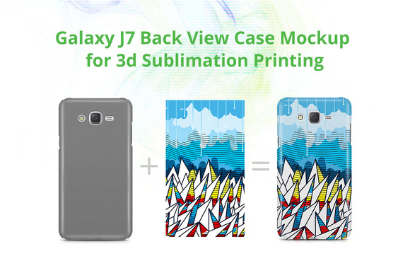 Galaxy J7 3D Case Design Mock-up