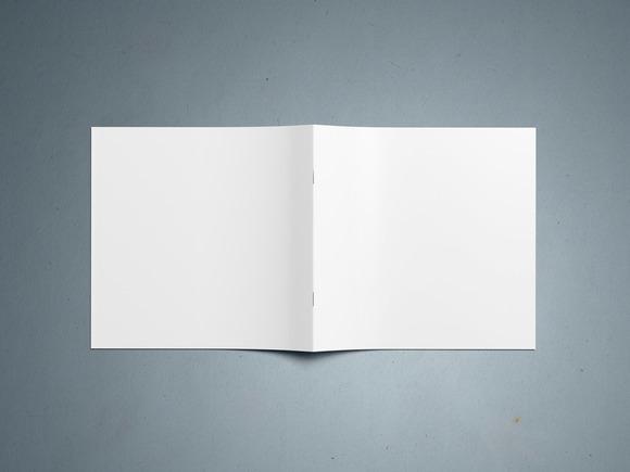 Square Brochure Mockup 2
