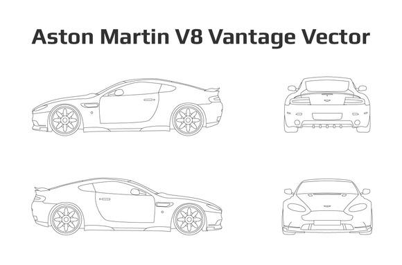 Aston Martin V8 Vantage Vector