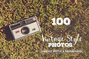 100 Vintage Style Photos v.3