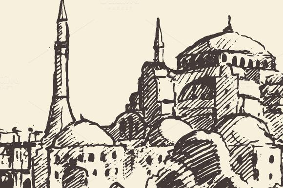 Istanbul Skyline Turkey