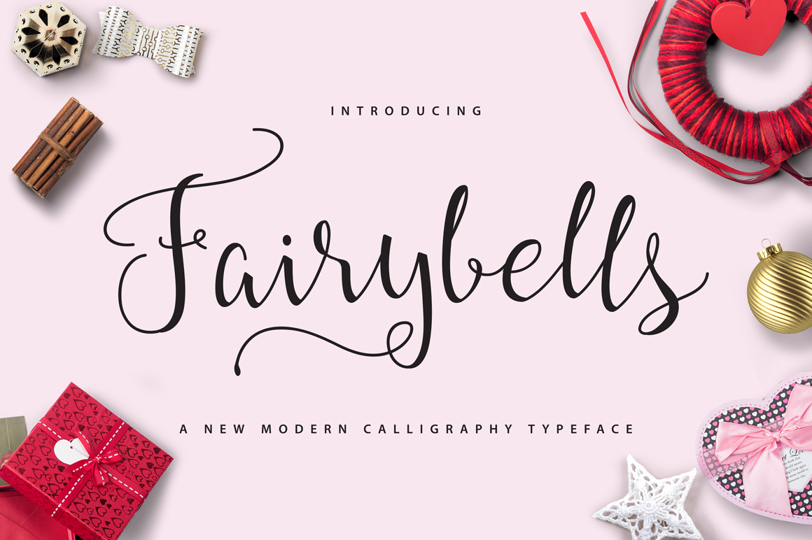 Fairybells Script Script Fonts On Creative Market