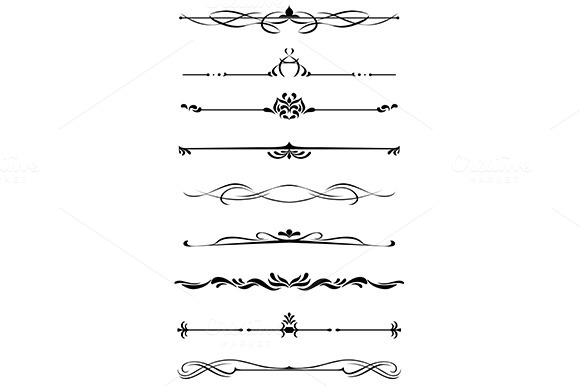 Dividers And Borders Set