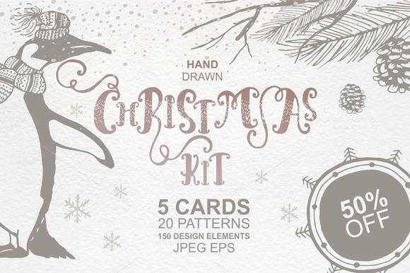 50%OFF -Christmas KIT Vol.2- Vector - Illustrations