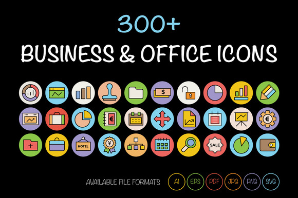300 Business And Office Icons