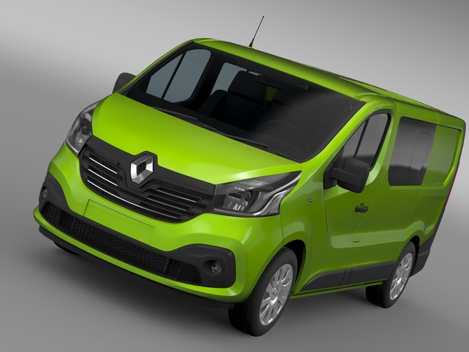 Renault Trafic Combi 2015