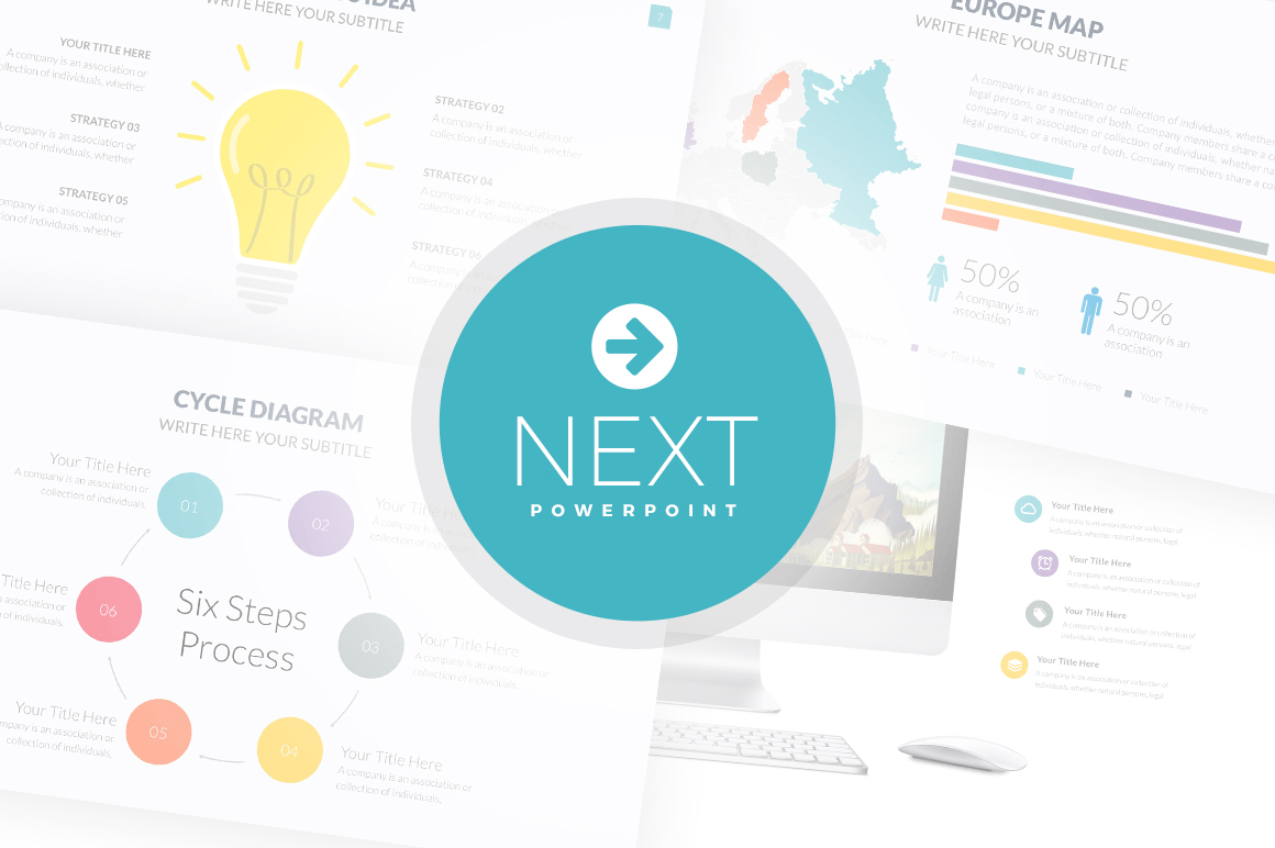 next powerpoint template presentation templates on