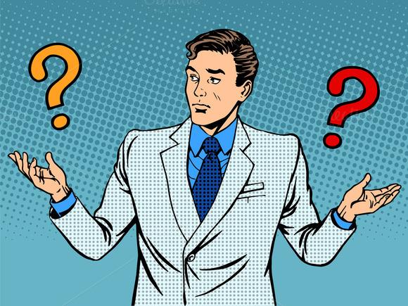 Questions Businessman