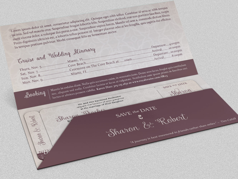 wedding boarding pass invitation  invitation templates on