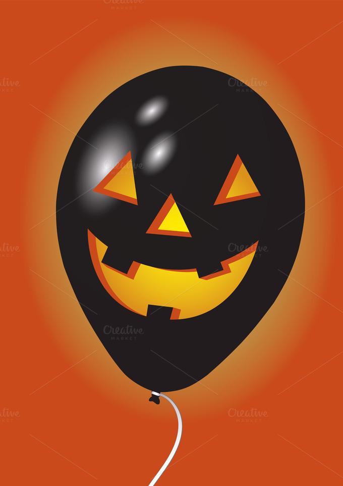 Halloween Balloon