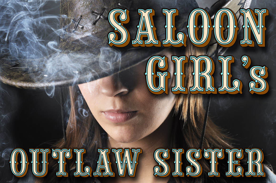 Saloon Girl Fonts On Creative Market