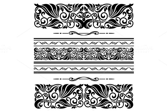 Decorative Ornaments And Patterns