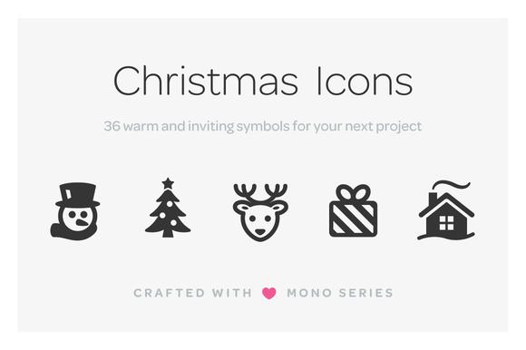 Mono Icons Christmas