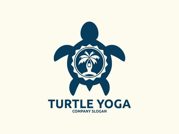 Template - Turtle Yoga Logo » Logotire.com
