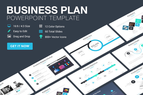 business plan layout ppt