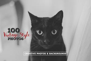 100 Vintage Style Photos v.4
