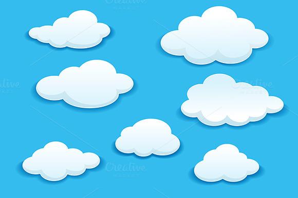 White Clouds Set