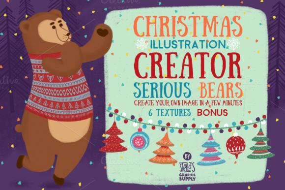 Christmas Illustration Creator Bears