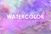 70% OFF 100 Watercolor Back-Graphicriver中文最全的素材分享平台