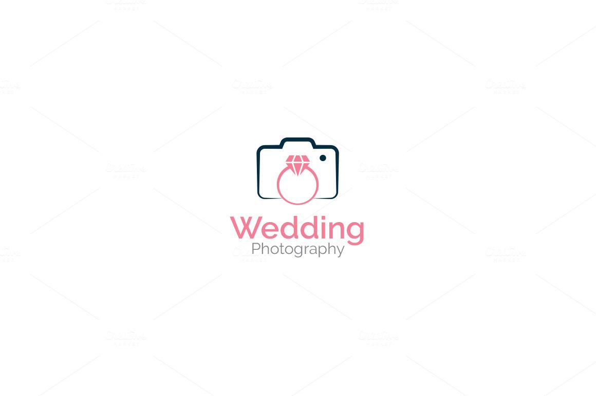 wedding photography logo logo templates on creative market