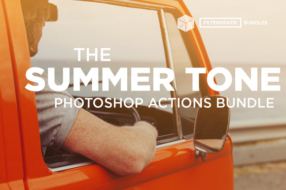 Summer Tone Photoshop Actions Bundle - Actions