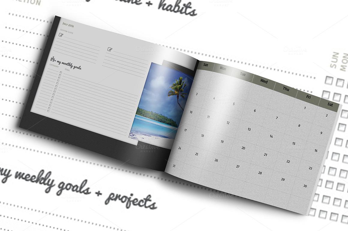 Diy Calendar Format : Diy planner calendar template for a o g