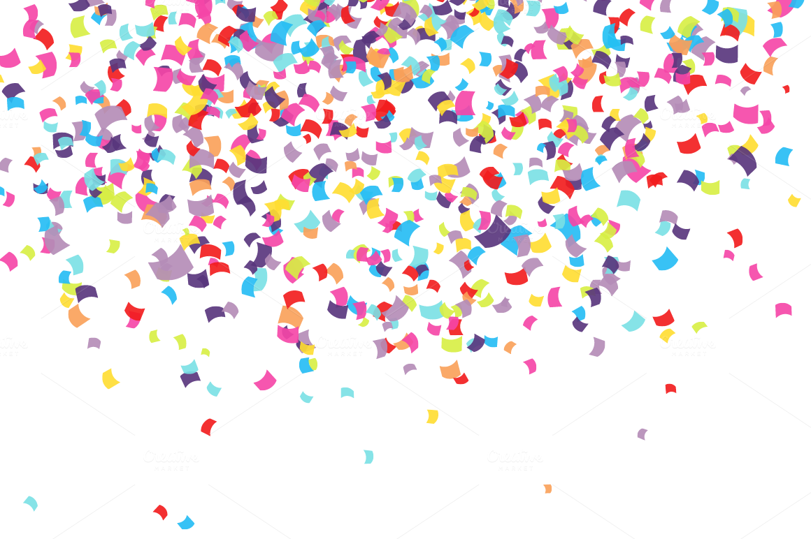 Confetti ~ Patterns on Creative Market