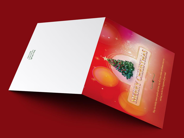 christmas greeting card template  templates on creative