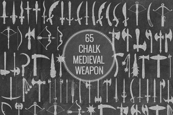 Chalk Medieval Weapon