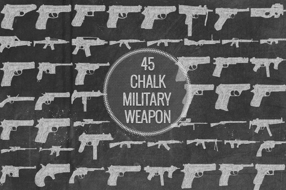 Chalk Military Weapon