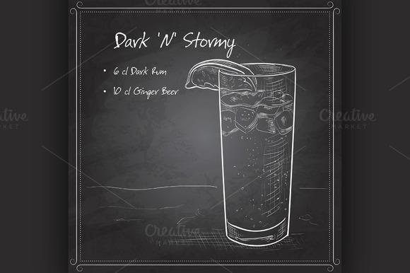 Cocktail Dark N Stormy
