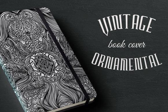 Vintage Ornamental Book Cover