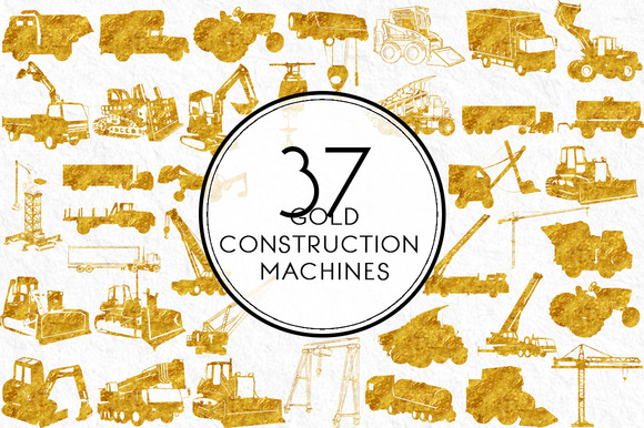 Gold Construction Machines