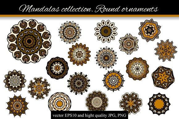 Mandalas collection. Round-2 - Illustrations