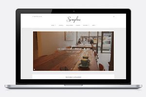 Semplice - Elegant WordPress Blog