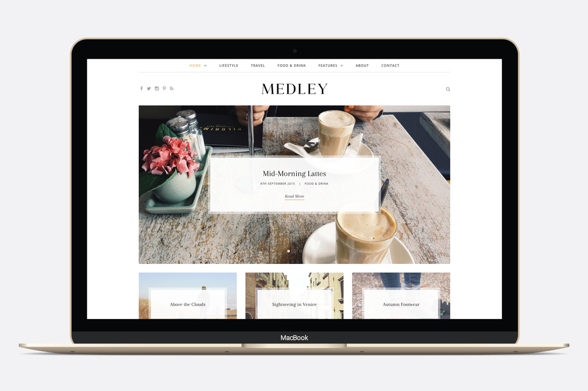 11 dreamy wordpress themes for creative bloggers