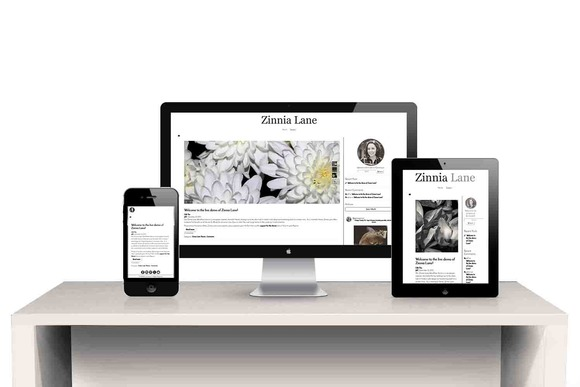 Zinnia Responsive Wordpress Theme