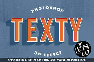Texty Photoshop Effect