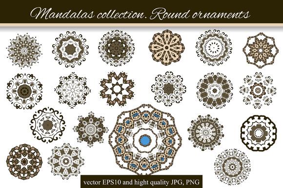 Mandalas Collection Round-3