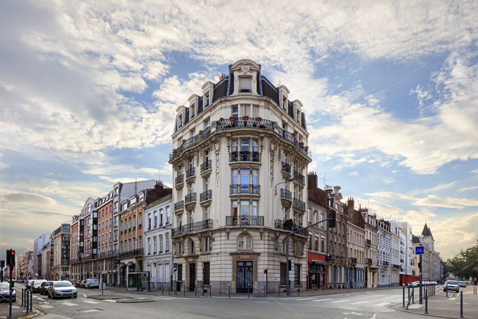Lille famouse rue solferino architecture photos on for Archi lille