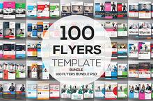 100 Business Flyers Bundle